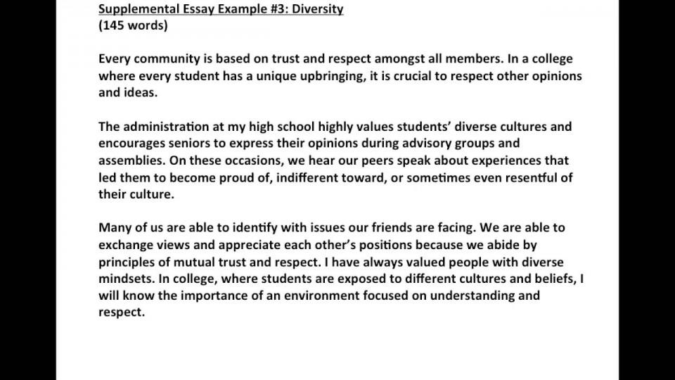 Diversity medical school essay