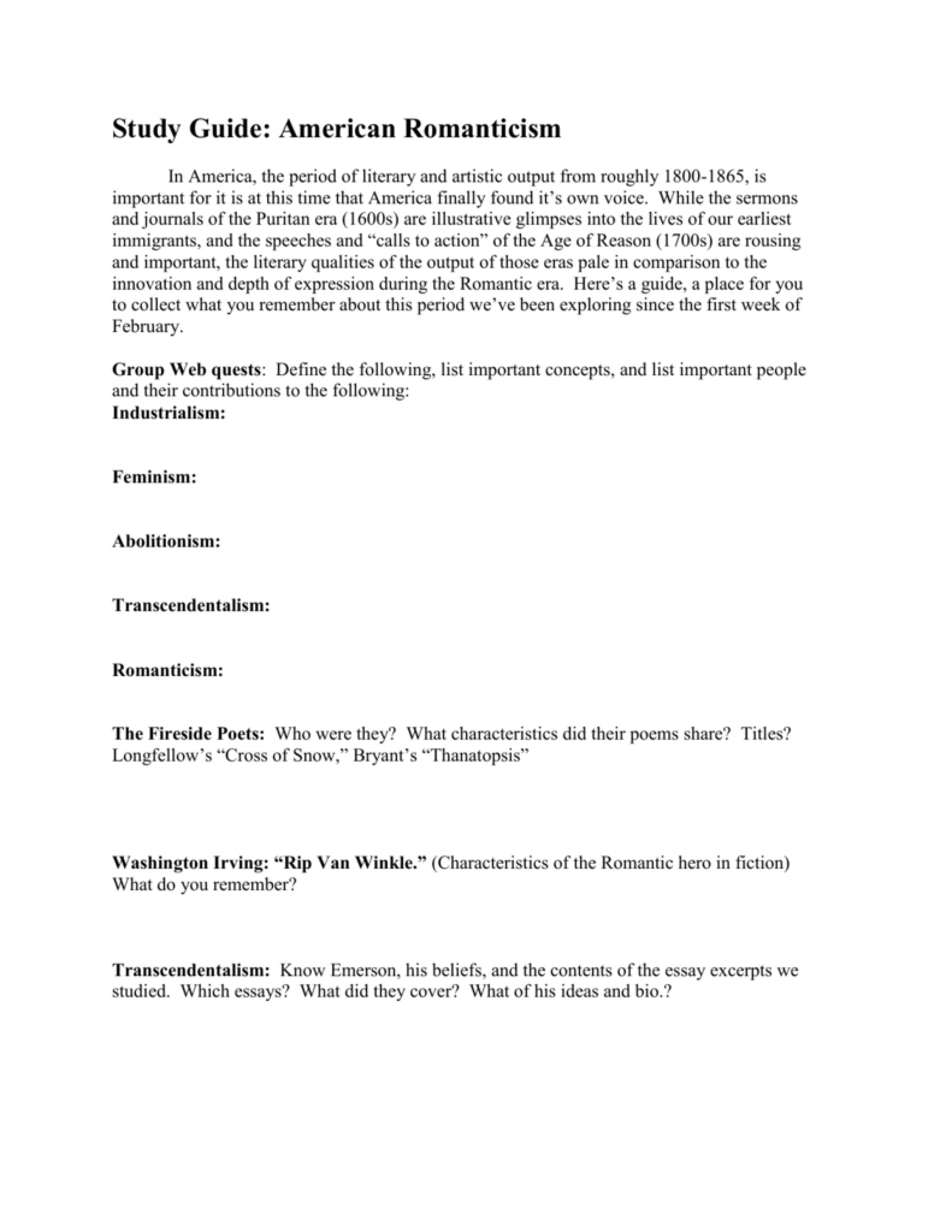 006 Essay Example 008030868 1 Unbelievable Romanticism Conclusion Topics American Questions 1920