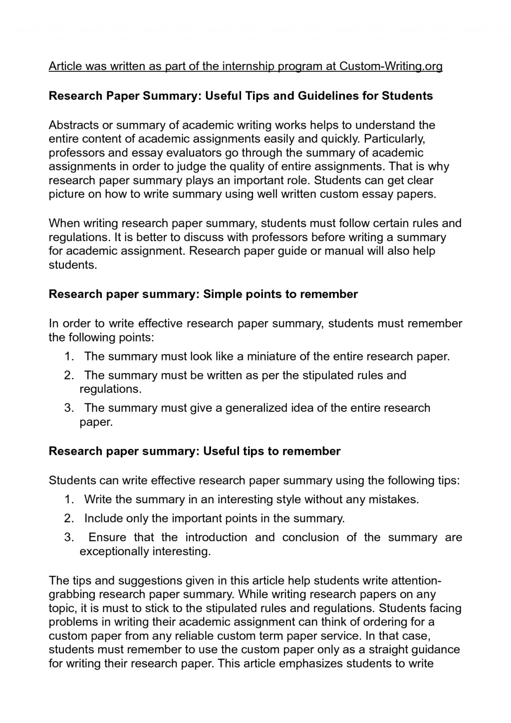 006 Essay Example Adhd Research Papers Brain Scan College About Writing Paper Summary 5 Impressive Conclusion Examples Thesis Statement Large