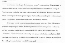 006 Essay Example Americanism Contest Astounding Amvets 2017 For Grades 7–12 Education Leaders