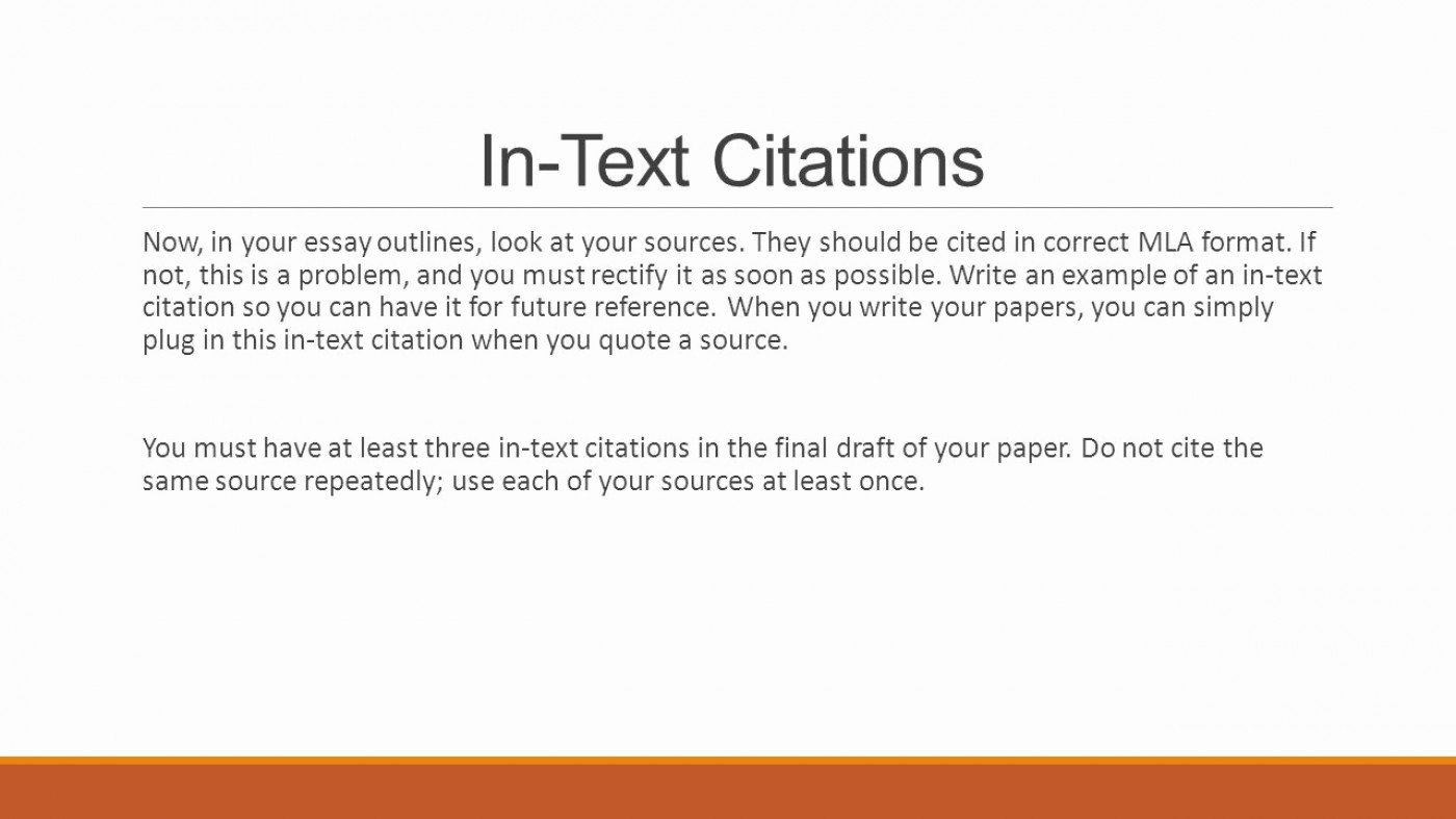 006 Essay Example Apa Format Sample In Text Ci On How To