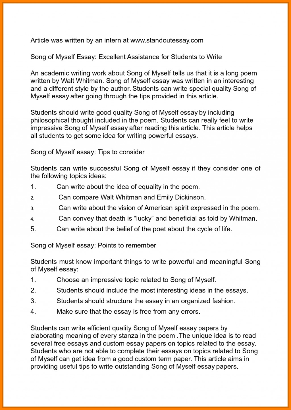 006 Essay Example Autobiography On Myself How To Write An Awful About Of Yourself Pdf Tagalog Large