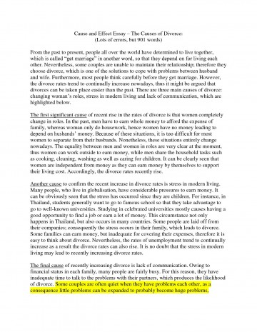 006 Essay Example Cause And Effect Examples Writing Wwwpodiumlubrificantescombr College L Amazing Divorce On Stress 4th Grade 360