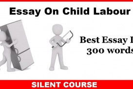 006 Essay Example Child Labour Best In Telugu Kannada Short Pdf
