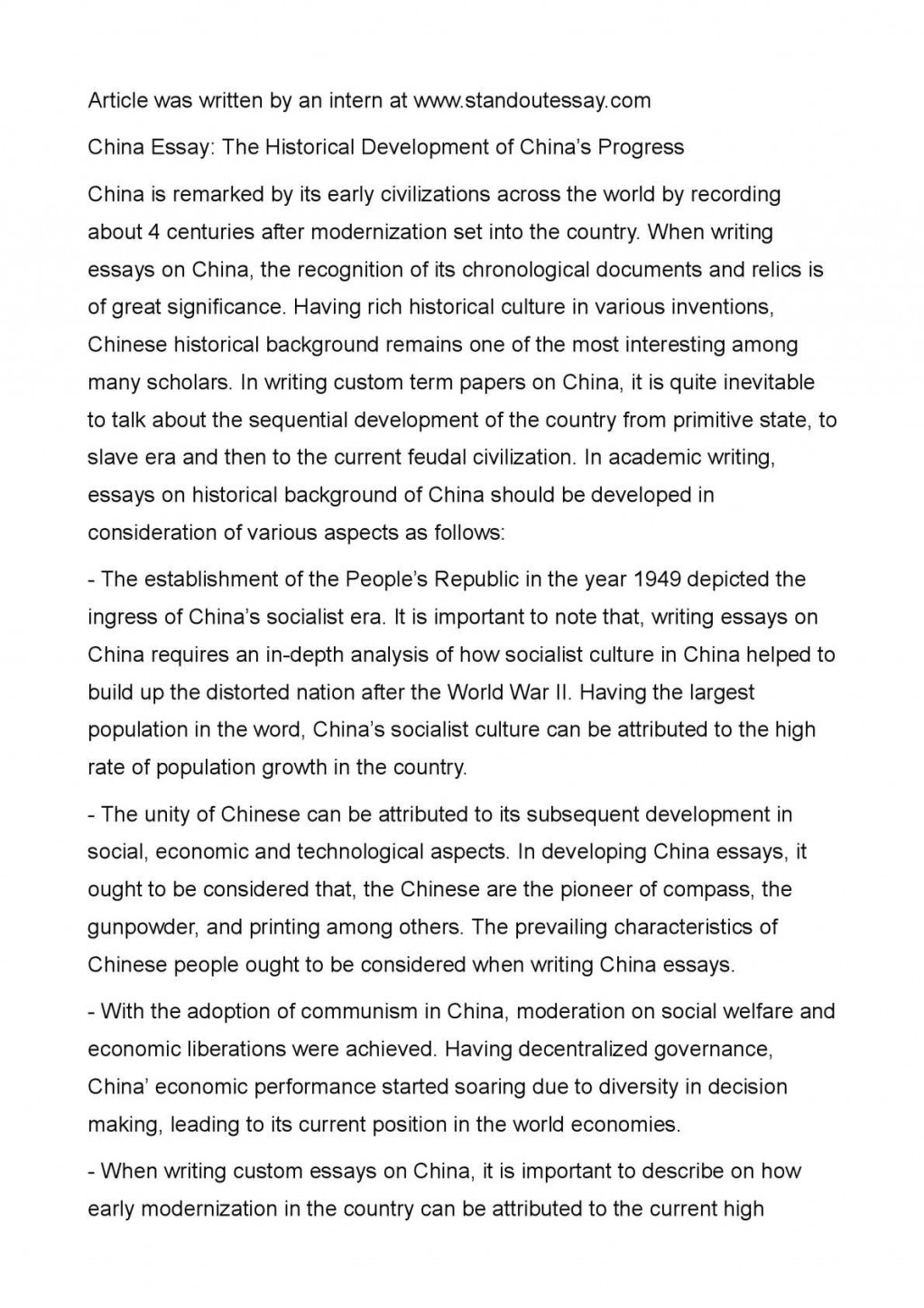 006 Essay Example Chinese Amazing Art Topics Vce Formats Sheet Large