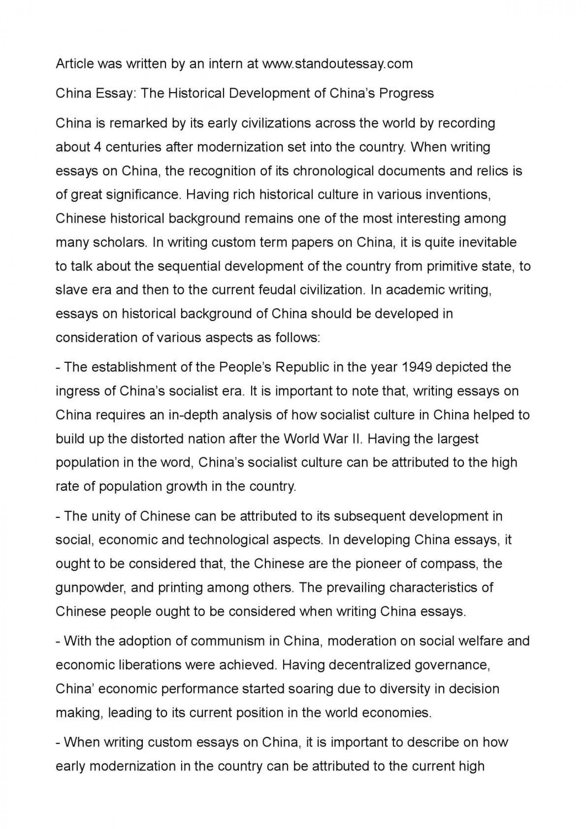 006 Essay Example Chinese Amazing Language Writing Letter Format Topics 1920