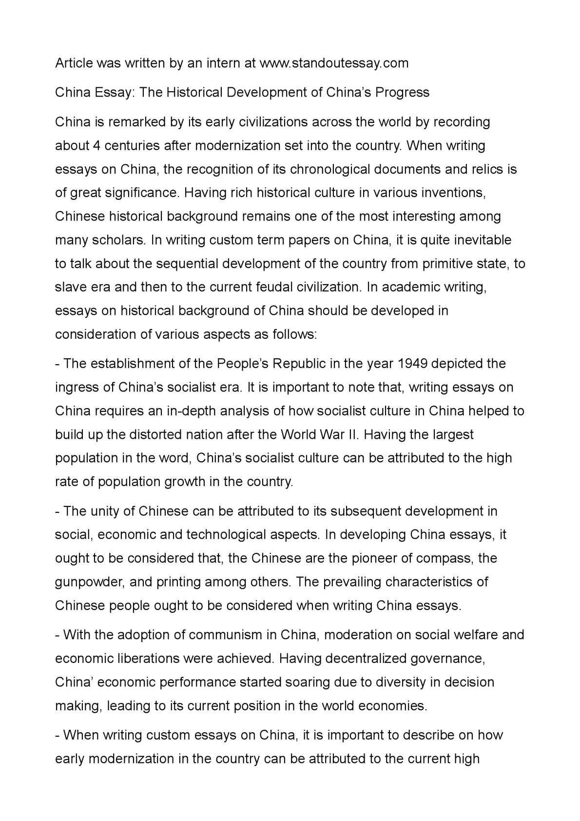 006 Essay Example Chinese Amazing Art Topics Vce Formats Sheet Full