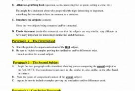 006 Essay Example College Comparison Worksheet Template Unique