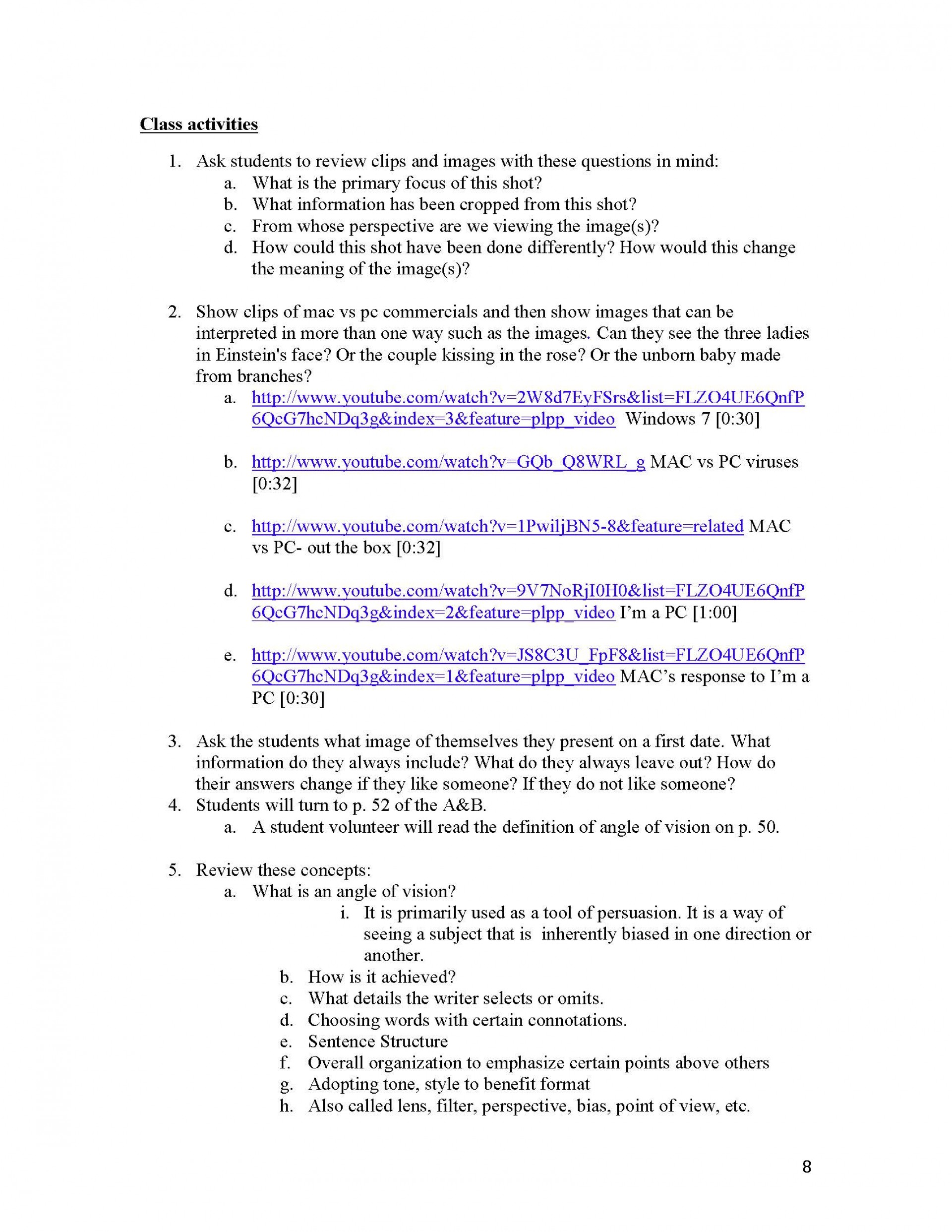 006 Essay Example Define Narrative Unit 1 Literacy Instructor Copy Page 08 Fascinating Definition Of Writing Personal Narrative/descriptive 1920