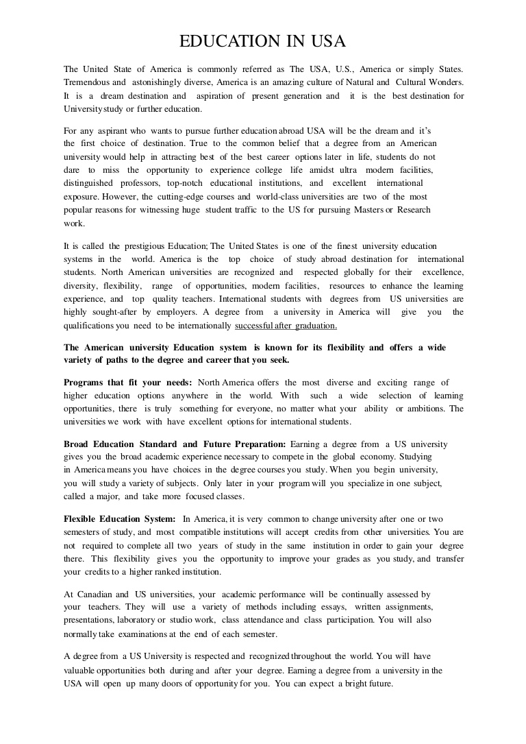 006 Essay Example Education In America Whb12 Jpg Pay For Investments Admission Higher Educationinusappt Phpapp01 Thumbn History Of Reform Problems Inequality Poverty And Free Stupendous What Is An American Ideas Definition Crevecoeur Summary Full