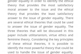 006 Essay Example Equality Formidable Conclusion Gender Wikipedia In Hindi Of Opportunity