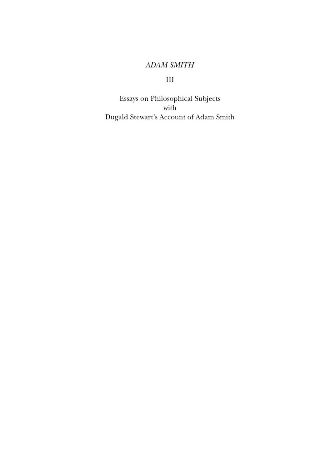 006 Essay Example Essays On Philosophical Best Subjects Smith Pdf Large