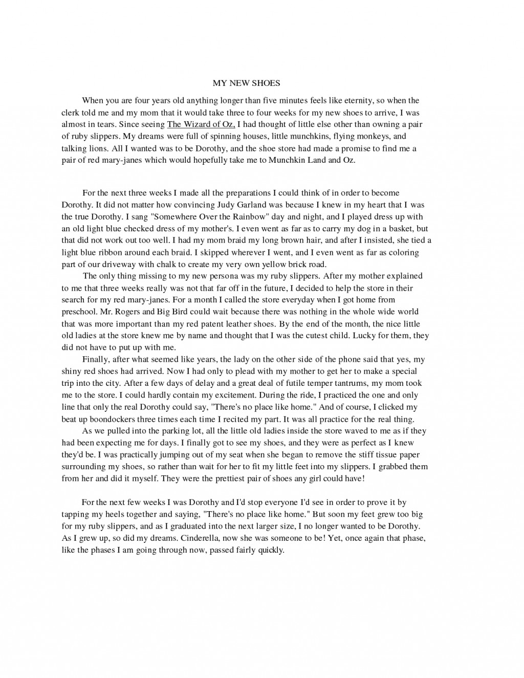 006 Essay Example Examples For High School Sample Essays Admission L Unique Questions Students Narrative Pdf Large