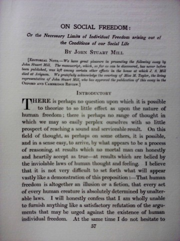 006 Essay Example Freedom Definition On Social In Oxford And Cambridge Review 1907 Rare Meaning Of Speech 360