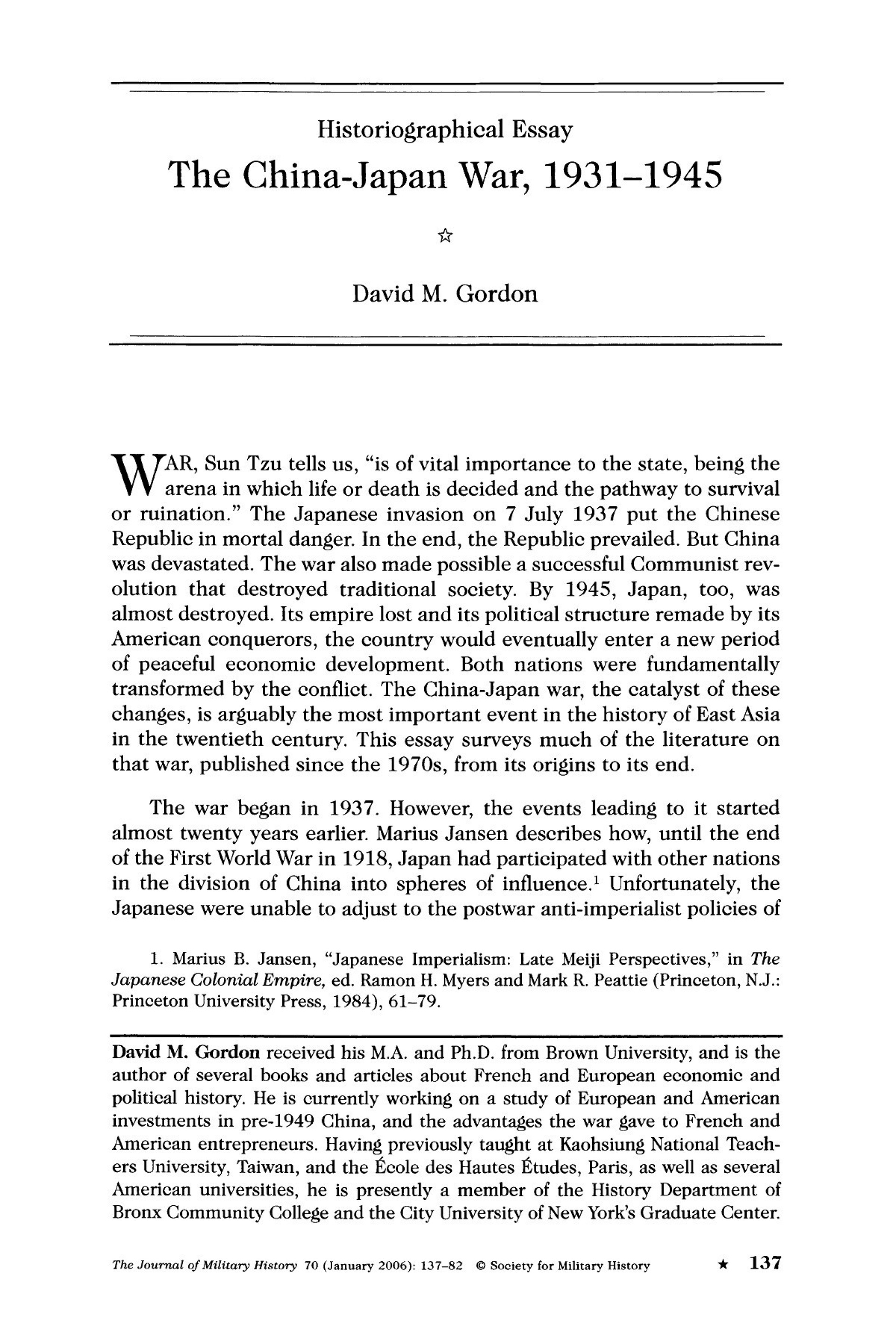 006 Essay Example Historiographical Phenomenal Historiography Sample On Slavery Topics 1920