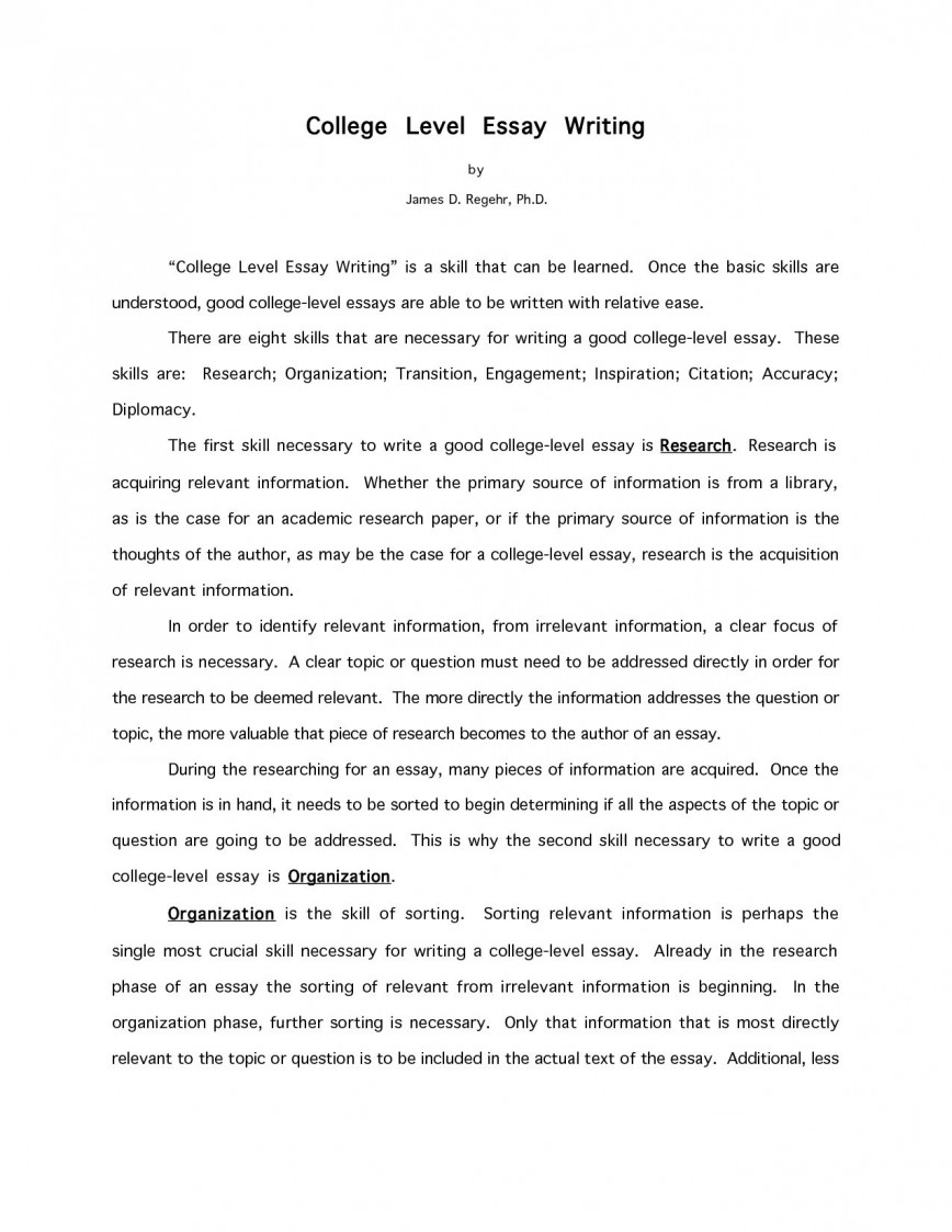 006 Essay Example How To Start College Awesome A Conclusion About Yourself Application 868