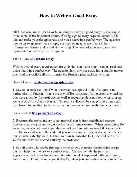 006 Essay Example How To Write Great Essays An Excellent The Perfect Easy Way Ex1id Best Awesome A Good For Scholarship Application Personal College Conclusion 480
