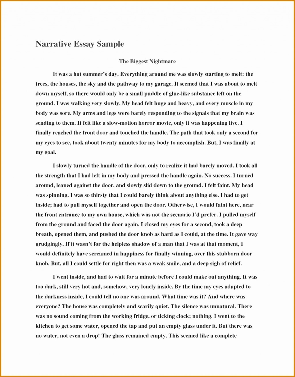006 Essay Example How To Write Narrative About Myself Poemview Co Me Sample For College Essays Yourself Ideal Vistalist Regarding Application All Top Admission Examples Pdf An In Spanish Large