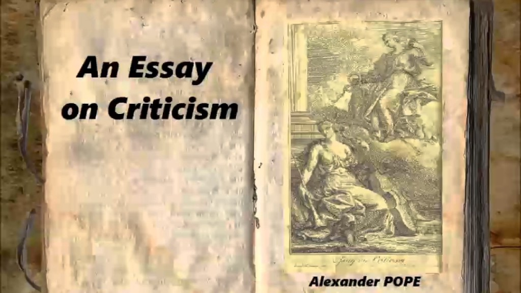 006 Essay Example Maxresdefault Alexander Pope On Outstanding Criticism Part 1 Analysis Summary Large