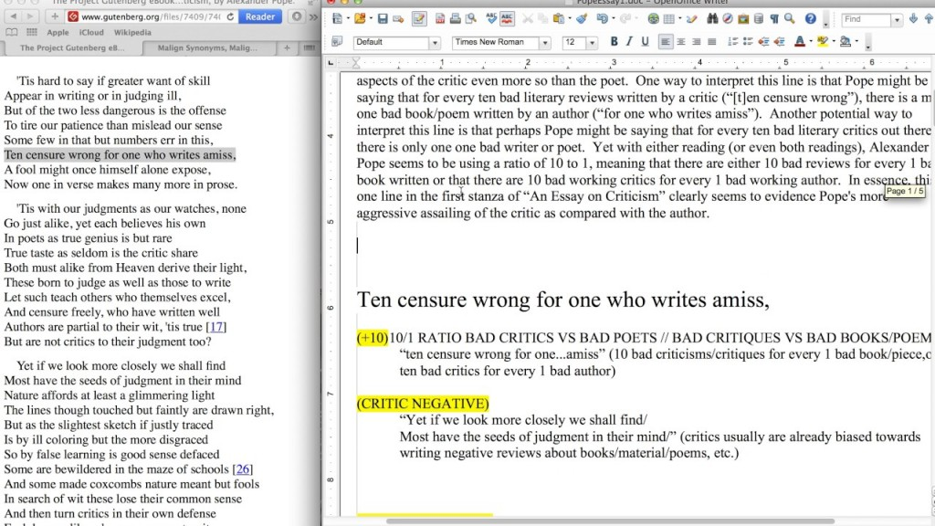 006 Essay Example Maxresdefault Pope On Criticism With Line Outstanding Numbers Large