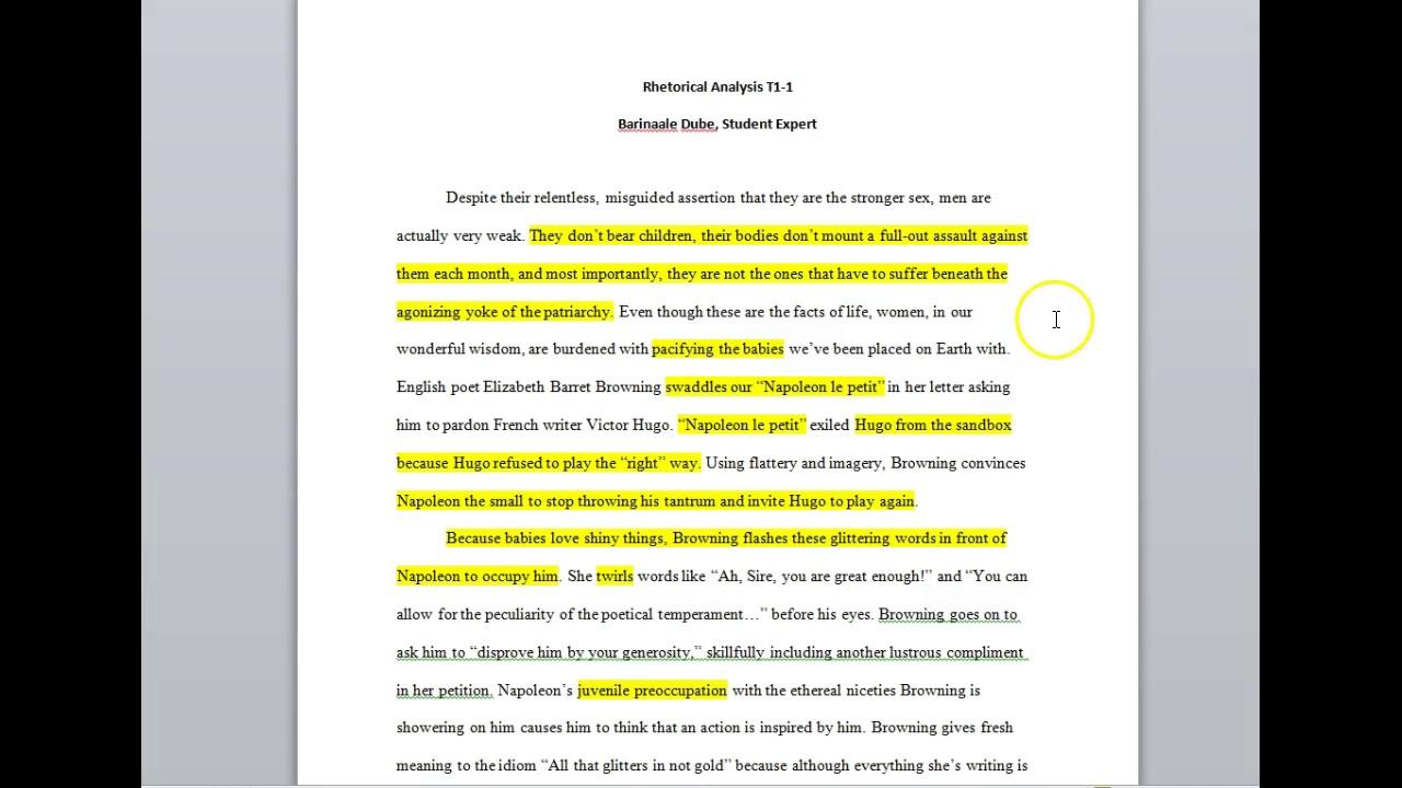 006 Essay Example Maxresdefault Rhetorical Unusual Examples Analysis Ap Lang Strategies Full