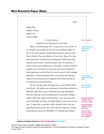 006 Essay Example Mla Phenomenal Formatted Format Title Page In Text Size 360
