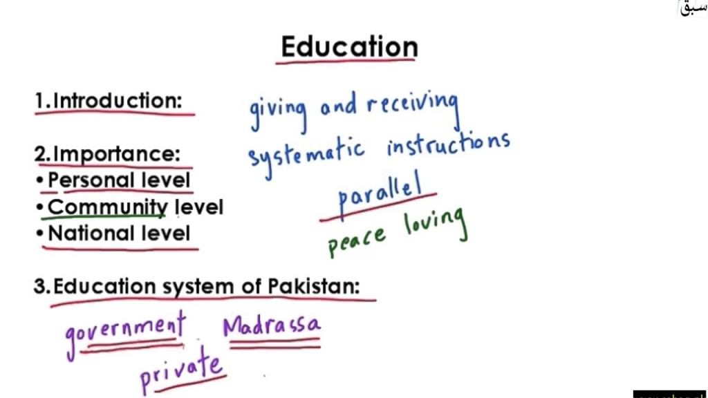 006 Essay Example On Education Impressive Educational And Professional Goals Importance In Development Of Country Large