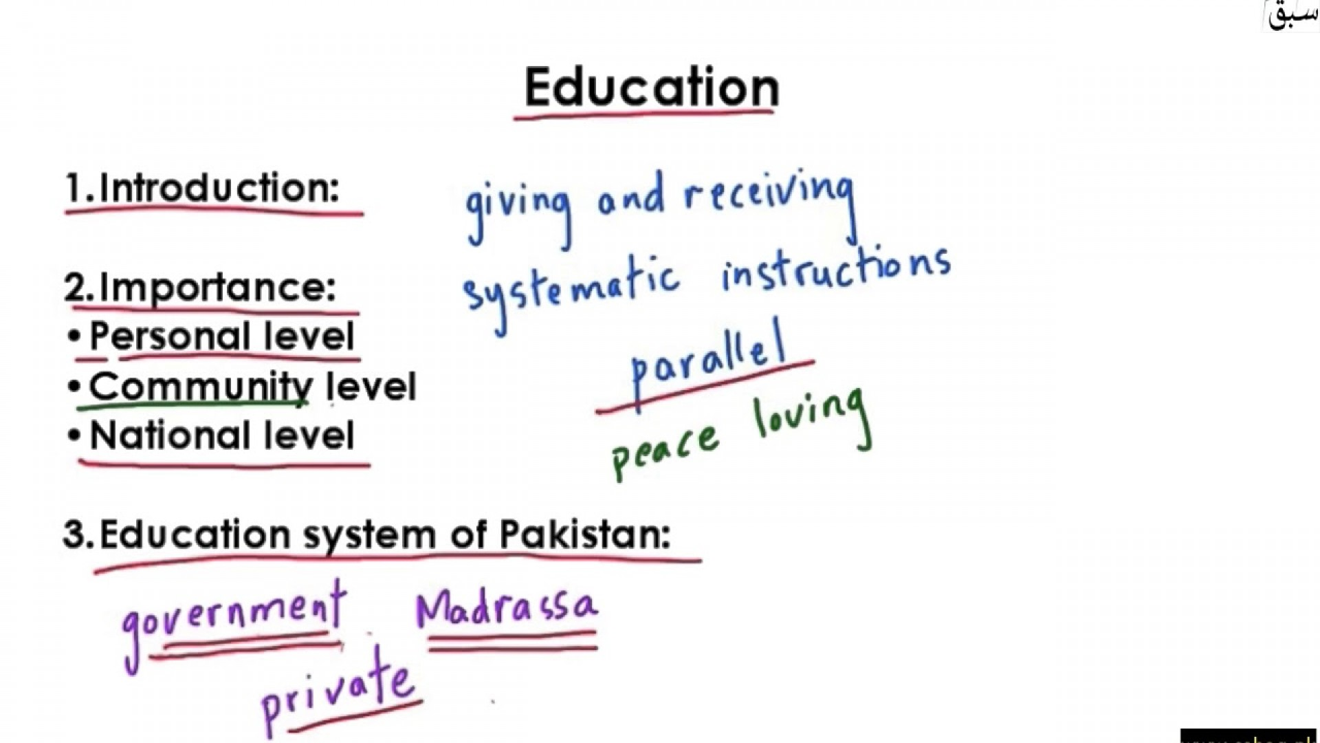 006 Essay Example On Education Impressive Educational And Professional Goals Importance In Development Of Country 1920