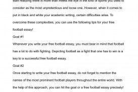 006 Essay Example On Football Top Match For Class 7 Player