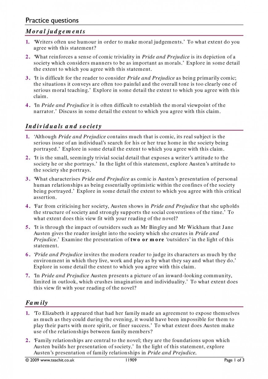 006 Essay Example Prejudice Pride And By Jane Austen Ks3 Write An On Goes Before Fall X My Nepal Country How Wonderful To Kill A Mockingbird Plan Gender In Title