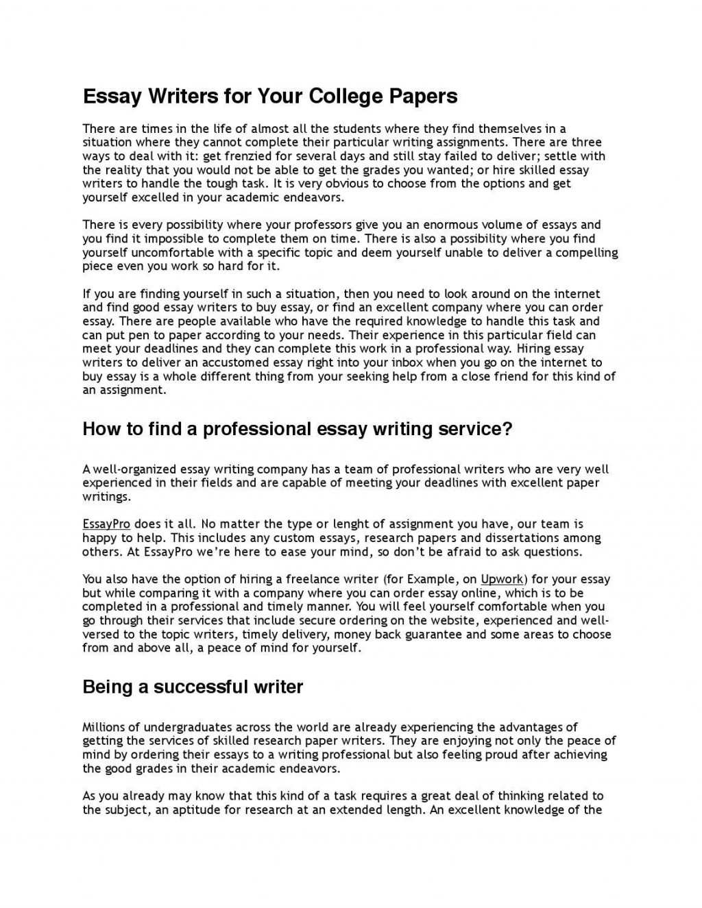 006 Essay Example Professional Page 1fit11562c1496ssl1 Awful Format Best Writing Service Topics Large