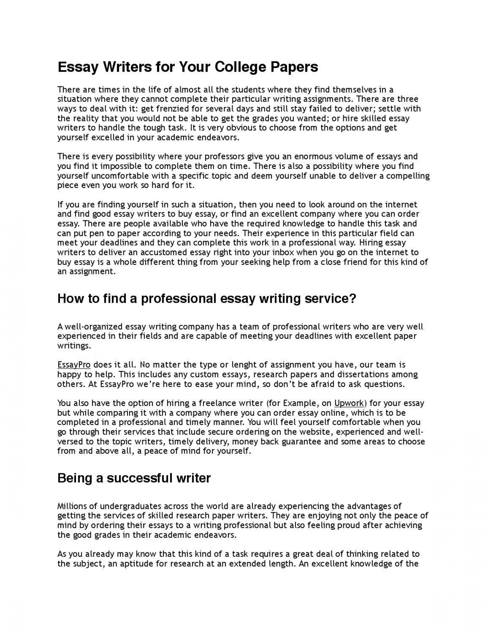 006 Essay Example Professional Page 1fit11562c1496ssl1 Awful Format Best Writing Service Topics 1920