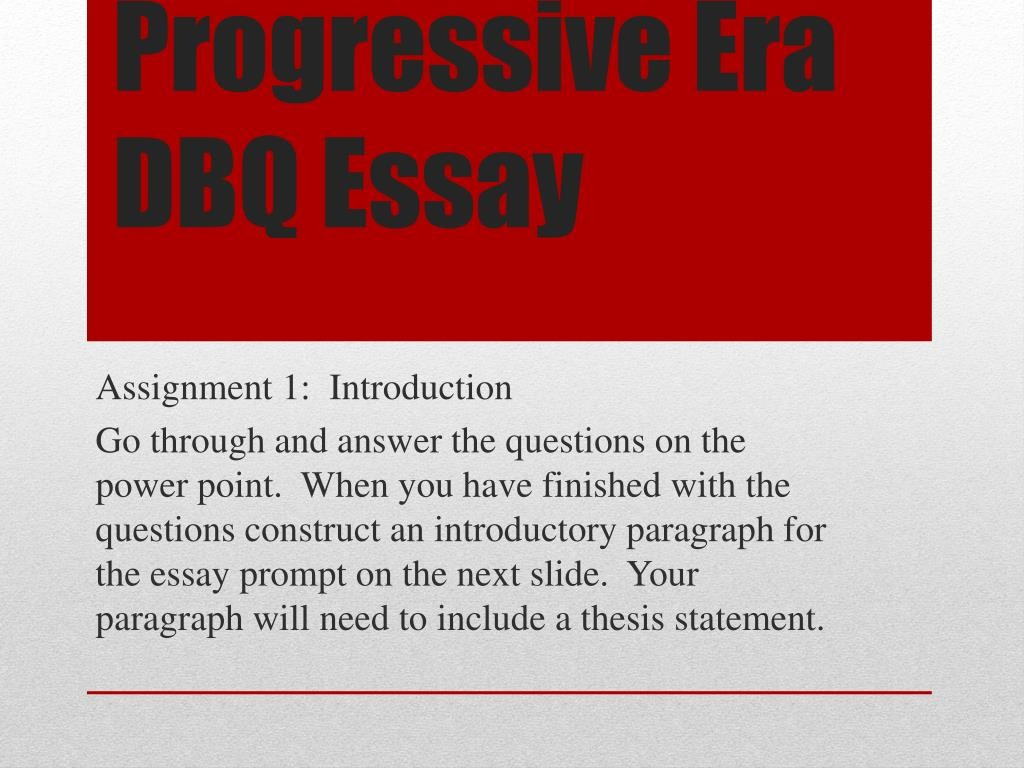 006 Essay Example Progressive Era Dbq Surprising Apush Questions Titles Large
