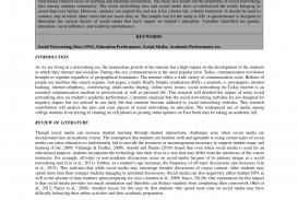 006 Essay Example Pros And Cons Of Social Media Pdf Fantastic