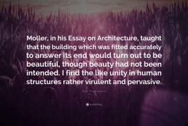 006 Essay Example Ralph Waldo Emerson Quote Moller In His On Architecture Unusual Essays Nature And Selected By Pdf Download First Second Series