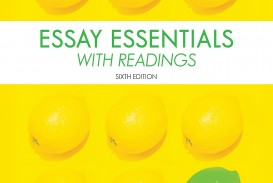 006 Essay Example Real Essays With Readings 5th Edition Wonderful Answer Key Online Ebook