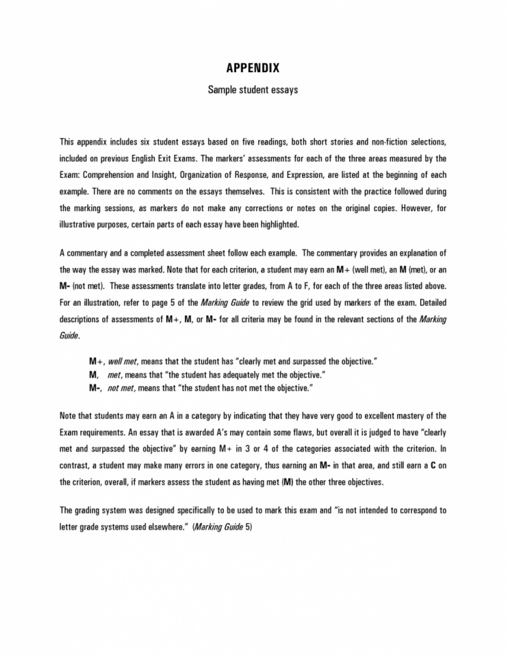 006 Essay Example Student Awesome Sat Examples Transfer Large