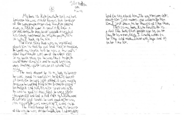 Student council essay examples