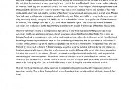 006 Essay Example Supersize Me Supersizemeessay Phpapp01 Thumbnail Stupendous Fathead Vs Super Size Conclusion Summary