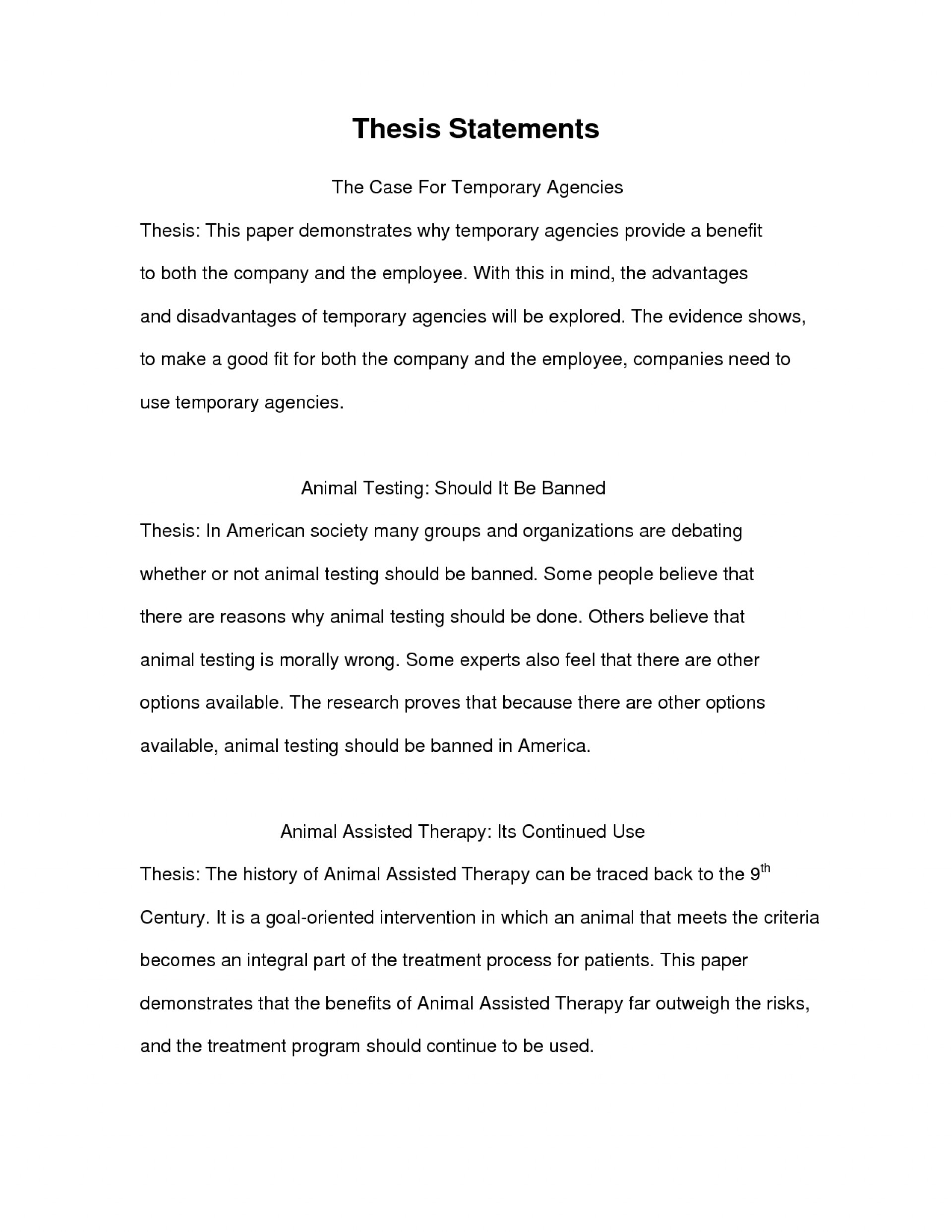 006 Essay Example Thesis Statement Examples For Essays Impressive Analysis Response Papers About Yourself 1920