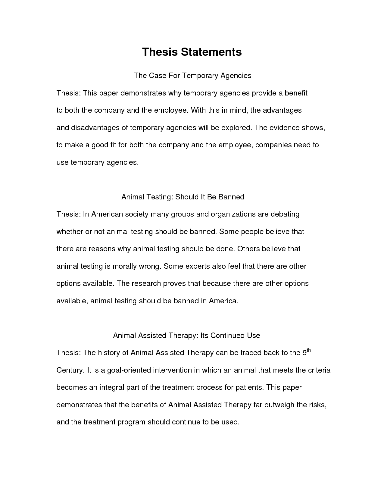 essay example thesis statement examples for essays