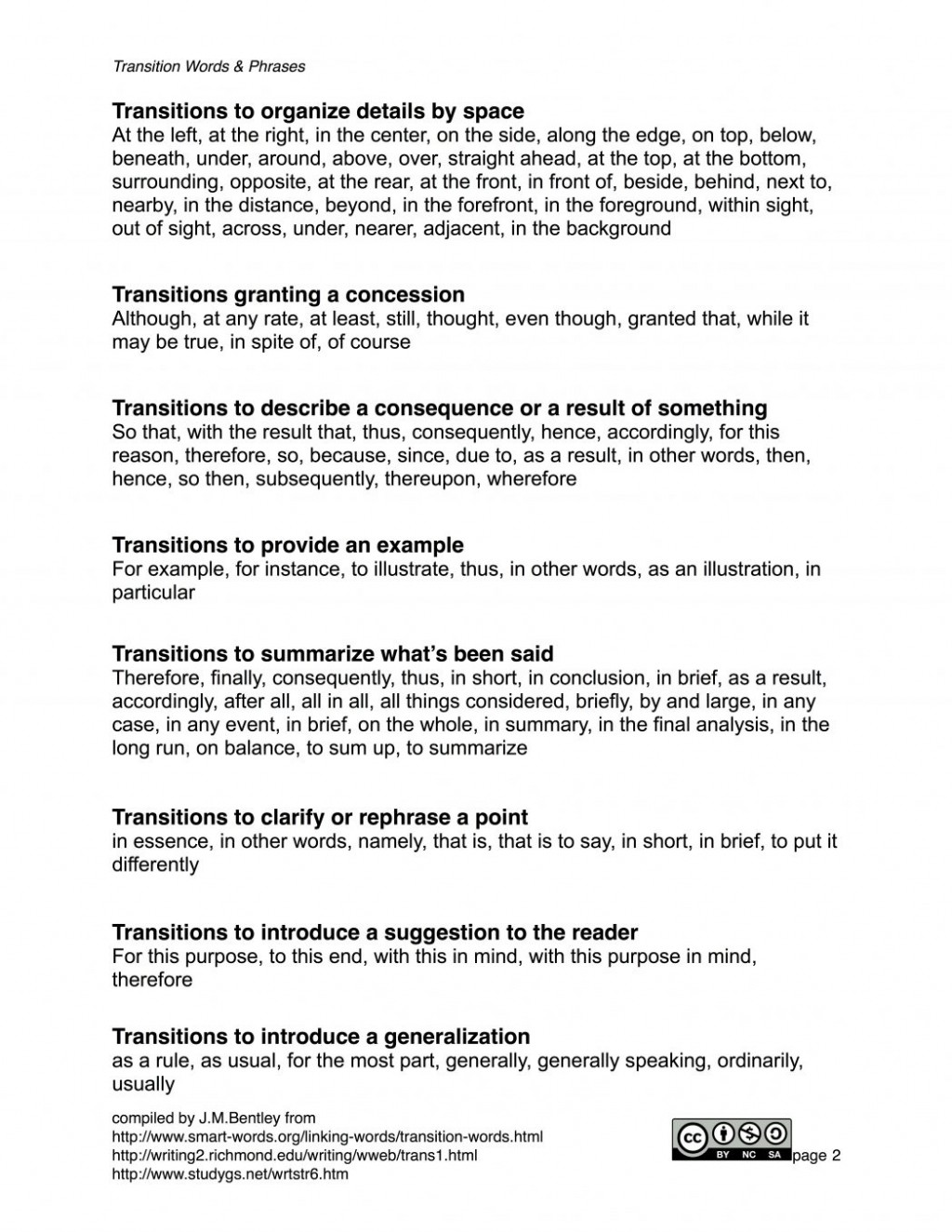 006 Essay Example Transitional Wordsphrases Lesson Plan Clarendon Learning Some Words And Phrases Worksheet Answers Best Transition Printabl Tsi Writing Prompts Scores Excellent Outline Sample Questions Large
