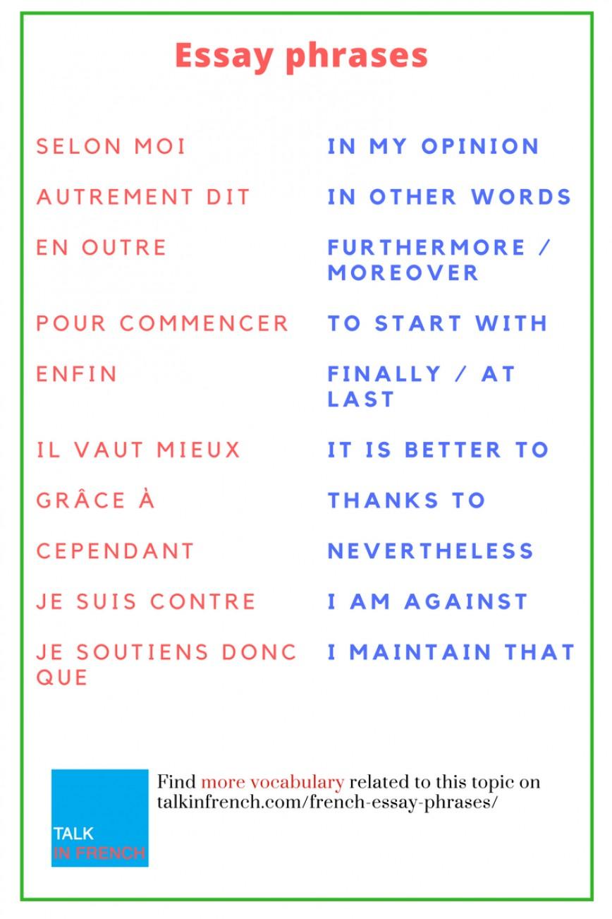 006 Essay Example Vocabulary Enhancer Fantastic Free 868