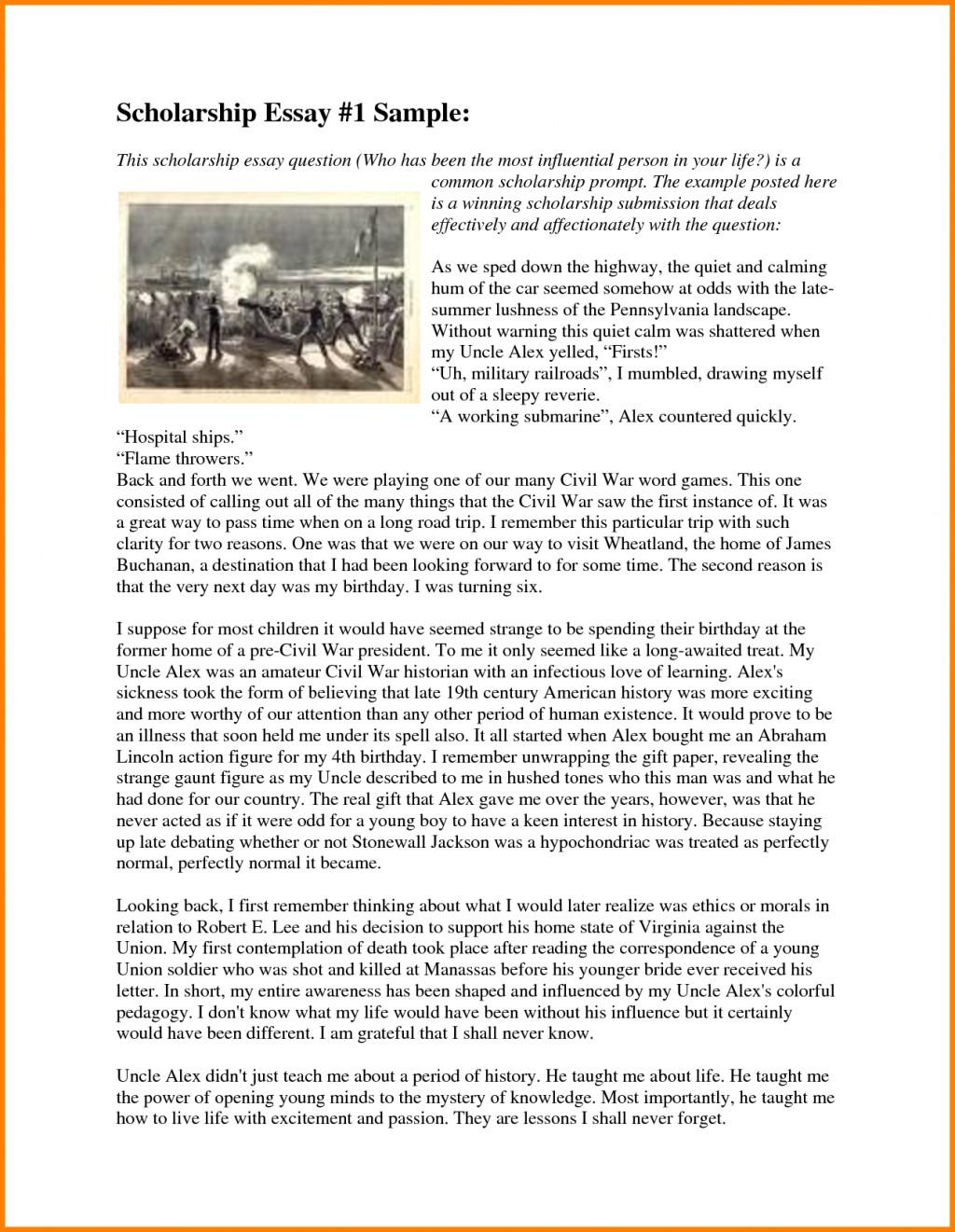 006 Essay Example Winning Scholarship Examples College Fix Ablez Exa Nursing Award Stupendous Pdf Large