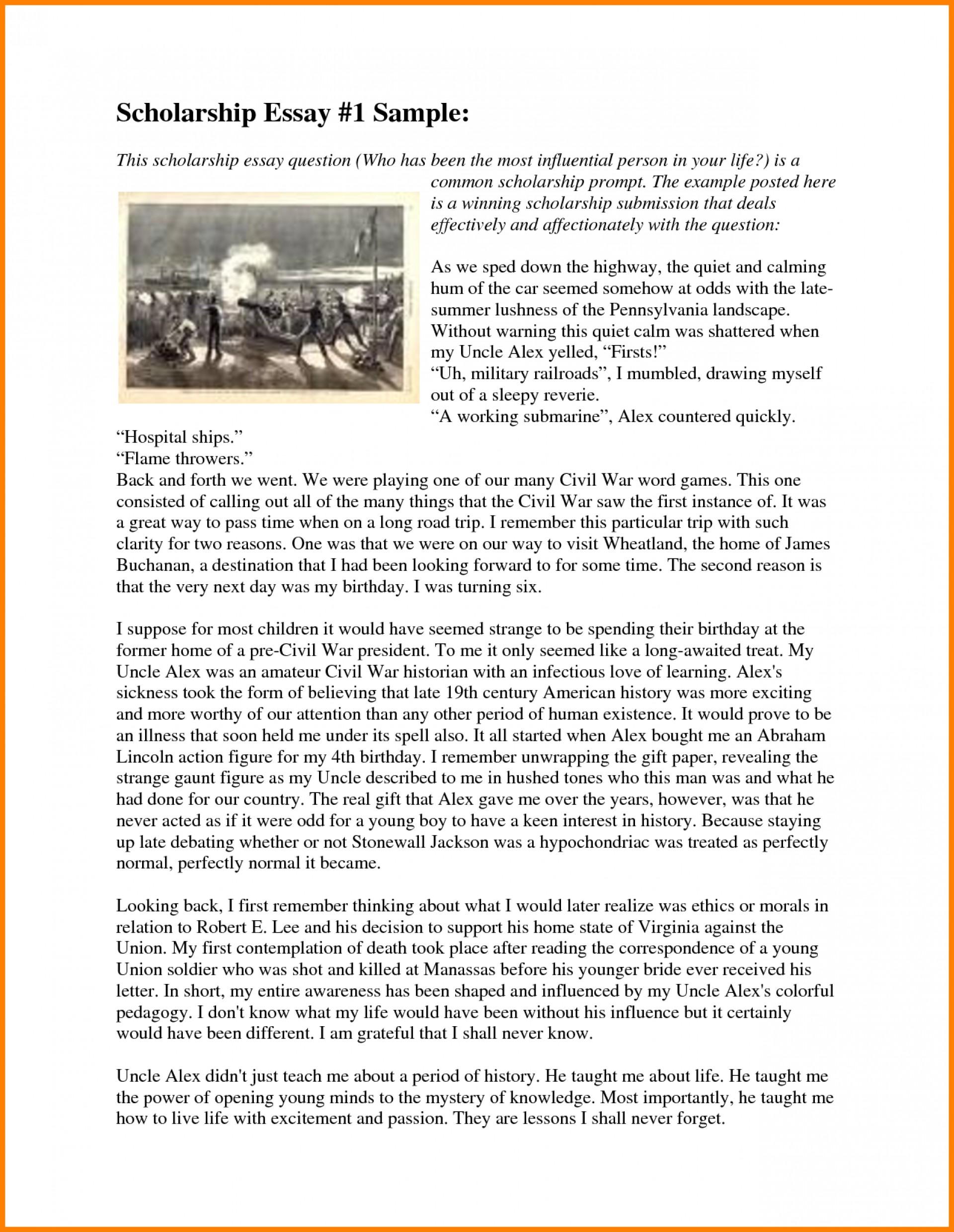 006 Essay Example Winning Scholarship Examples College Fix Ablez Exa Nursing Award Stupendous Pdf 1920