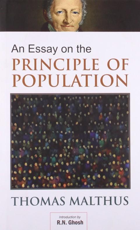 006 Essay On The Principle Of Population 8162bfm1ycfl Singular Malthus Sparknotes Thomas Main Idea 480