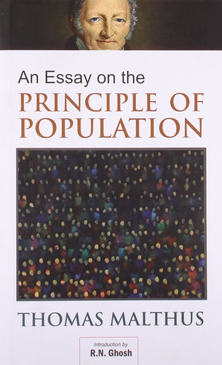 006 Essay On The Principle Of Population 8162bfm1ycfl Singular Malthus Sparknotes Thomas Main Idea 728