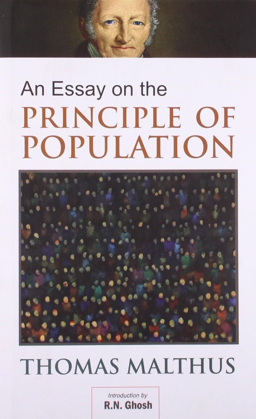 006 Essay On The Principle Of Population 8162bfm1ycfl Singular Malthus Sparknotes Thomas Main Idea 868