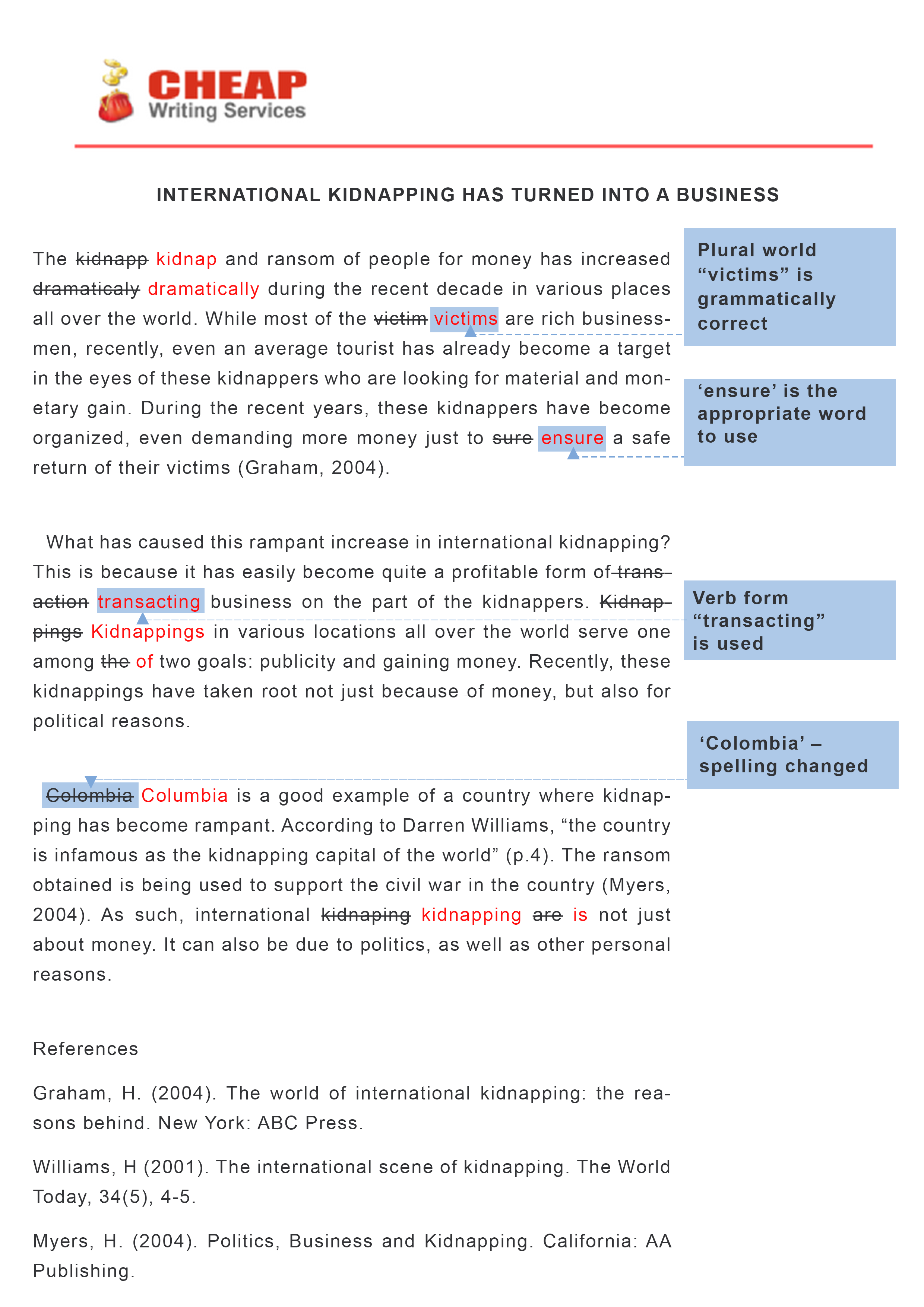 006 Essay Proofreading Example Free Online Rare Editor Software Ielts Correction Full