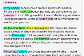 006 Essay Writing On Examination Day Life Skills 1 Rare
